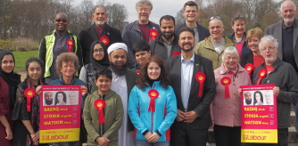 Whalley Range Labour Party in Alexandra Park